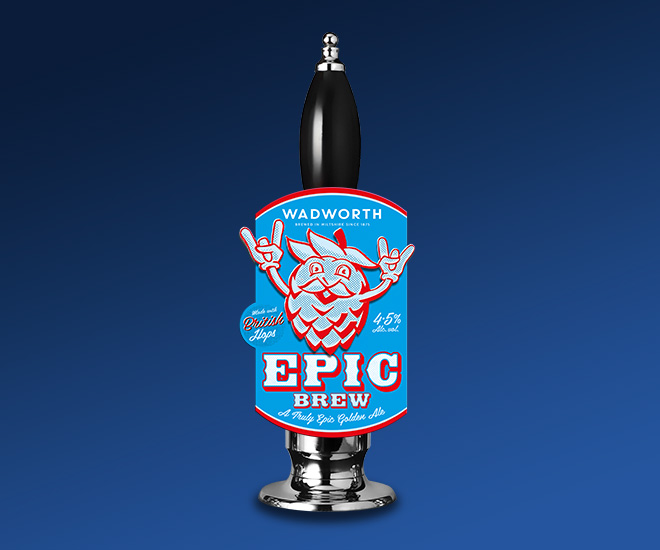 Wadworth Epic Brew beer
