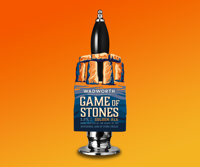 Wadworth Game of Stones Golden Ale
